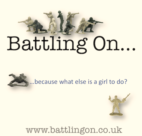 Battling On... | because what else is a girl to do?